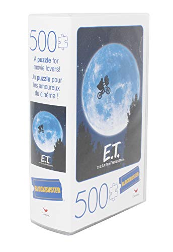 Spin Master Games E.T. the Extra-Terrestrial Movie 500-Piece Puzzle in Plastic Retro Blockbuster VHS Video Case 4