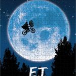Spin Master Games E.T. the Extra-Terrestrial Movie 500-Piece Puzzle in Plastic Retro Blockbuster VHS Video Case 14