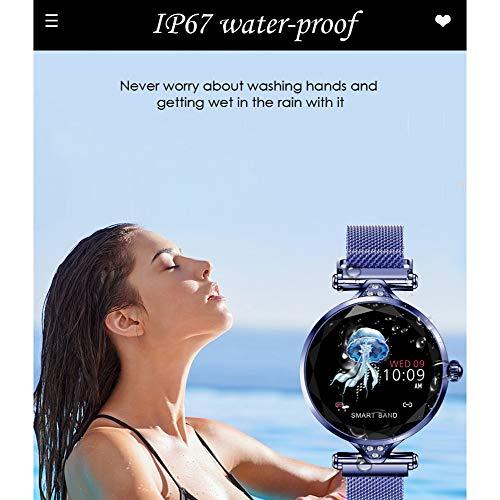 TCYLZ H1 Female Smart Watch, for Women Outdoor Smart Sports Watch with, Waterproof Sleep & Blood Pressure Oxygen Monitor… 3