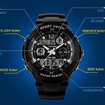 TOPCABIN Digital-Analog Kids Teenager Boys Girls Sport Digital Watch with Alarm Stopwatch Chronograph - 50m Water Proof… 22