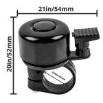 Terra Connect Bike Bell, Bicycle Bell with Loud and Crisp Clear Sound for Road and Mountain Bike Ring Bell, It Is An… 22