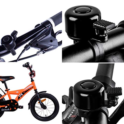Terra Connect Bike Bell, Bicycle Bell with Loud and Crisp Clear Sound for Road and Mountain Bike Ring Bell, It Is An… 5