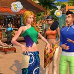 The Sims 4 Plus Island Living Deluxe Upgrade Bundle (Digital Download Code in a Box) PC DVD 15