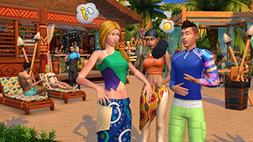 The Sims 4 Plus Island Living Deluxe Upgrade Bundle (Digital Download Code in a Box) PC DVD 4