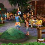 The Sims 4 Plus Island Living Deluxe Upgrade Bundle (Digital Download Code in a Box) PC DVD 17