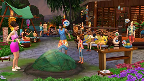 The Sims 4 Plus Island Living Deluxe Upgrade Bundle (Digital Download Code in a Box) PC DVD 6