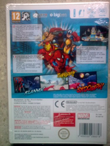 Third Party - Marvel Super Heroes 3D : Grandmaster's Challenge Occasion [ WII ] - 3499550286618 3
