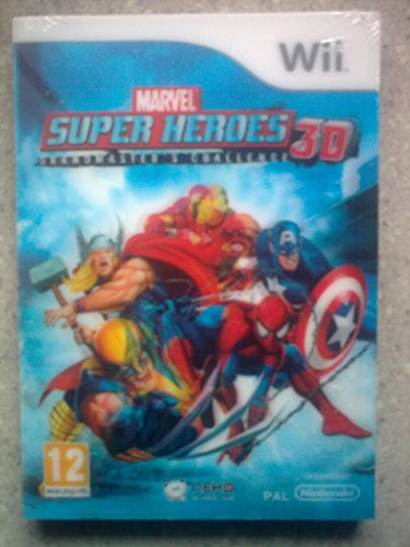 Third Party - Marvel Super Heroes 3D : Grandmaster's Challenge Occasion [ WII ] - 3499550286618 1
