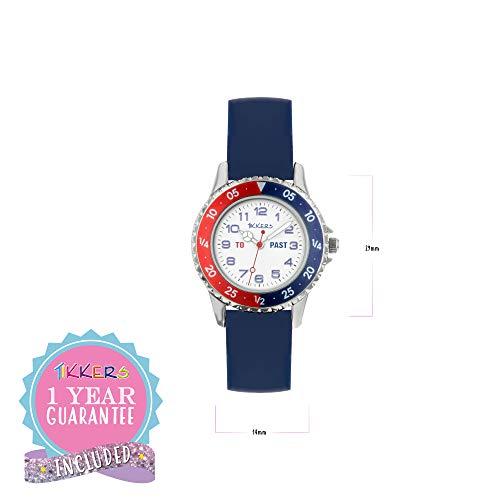 Tikkers Boy's Analogue Quartz Watch with Silicone Strap TK0140 3