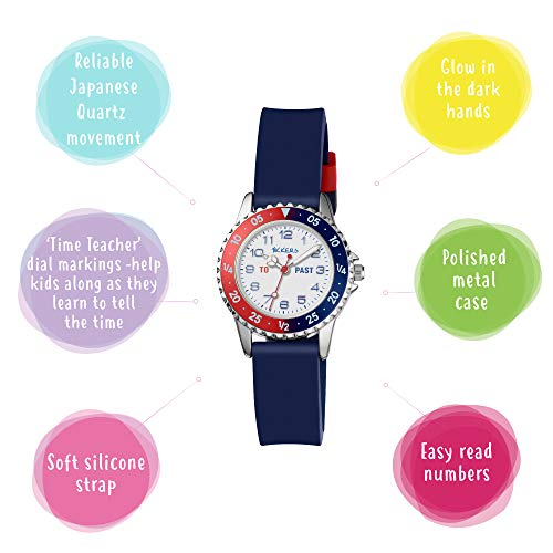 Tikkers Boy's Analogue Quartz Watch with Silicone Strap TK0140 4