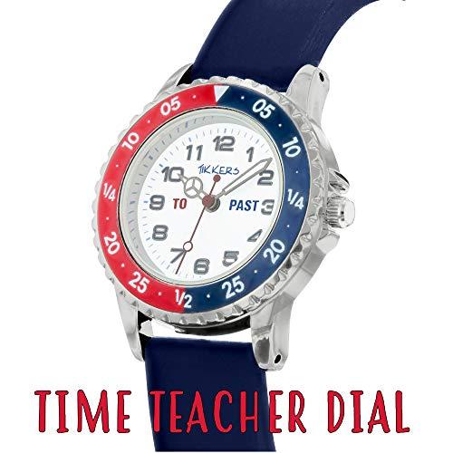 Tikkers Boy's Analogue Quartz Watch with Silicone Strap TK0140 5