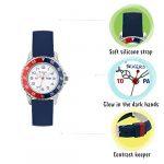 Tikkers Boy's Analogue Quartz Watch with Silicone Strap TK0140 21