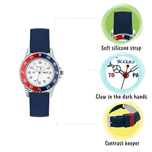 Tikkers Boy's Analogue Quartz Watch with Silicone Strap TK0140 6