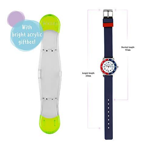 Tikkers Boy's Analogue Quartz Watch with Silicone Strap TK0140 8