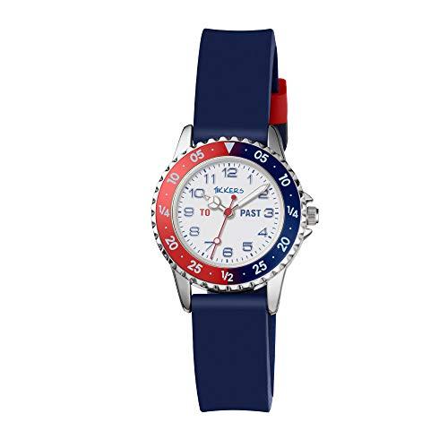 Tikkers Boy's Analogue Quartz Watch with Silicone Strap TK0140 1