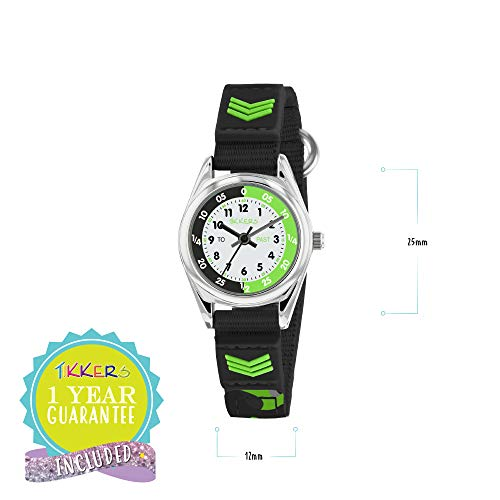 Tikkers Boys Analogue Quartz Watch with Textile Strap TK0154 4
