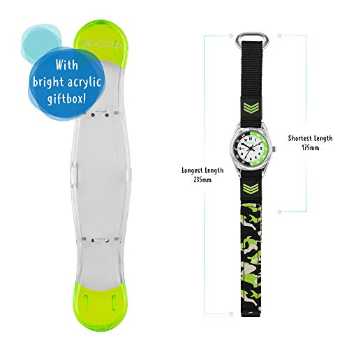 Tikkers Boys Analogue Quartz Watch with Textile Strap TK0154 5