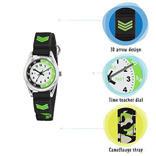Tikkers Boys Analogue Quartz Watch with Textile Strap TK0154 6