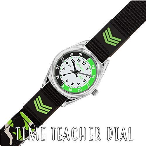 Tikkers Boys Analogue Quartz Watch with Textile Strap TK0154 7