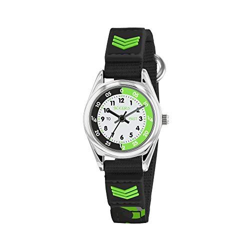 Tikkers Boys Analogue Quartz Watch with Textile Strap TK0154 1
