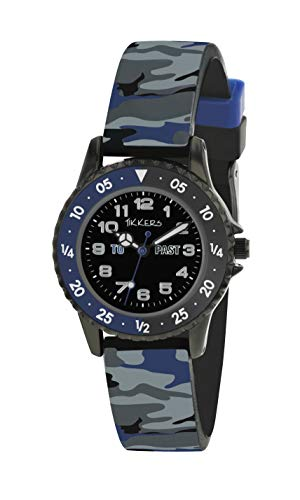 Tikkers Camouflage Time Teacher Watch - NTK0020 1