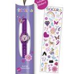 Tikkers Girls' Analogue Quartz Watch with Rubber Bracelet – TK0041 19