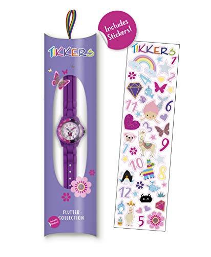Tikkers Girls' Analogue Quartz Watch with Rubber Bracelet – TK0041 4