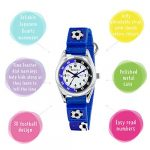 Tikkers TK0122 Boys Analogue Quartz Watch with Fabric and Canvas Strap 18