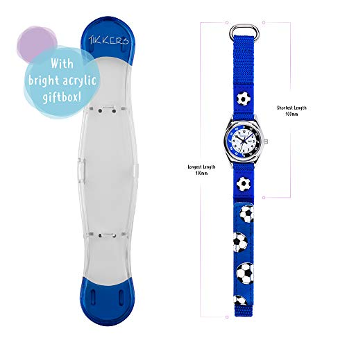 Tikkers TK0122 Boys Analogue Quartz Watch with Fabric and Canvas Strap 6