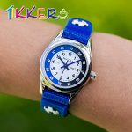 Tikkers TK0122 Boys Analogue Quartz Watch with Fabric and Canvas Strap 22