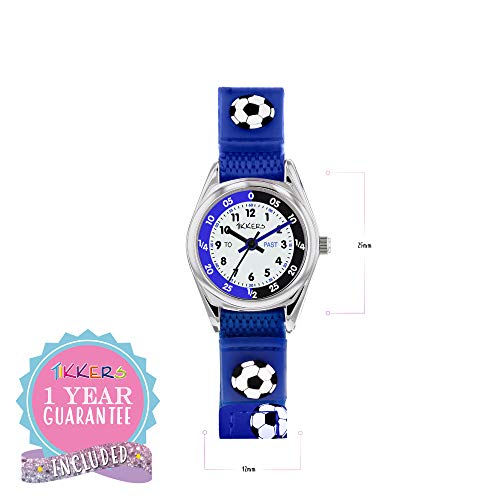 Tikkers TK0122 Boys Analogue Quartz Watch with Fabric and Canvas Strap 8