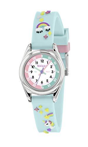 Tikkers Unicorn Theme Time Teacher Watch - NTK0019 1