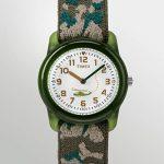 Timex Kid's Analog 28 mm Elastic Fabric Strap Watch 11