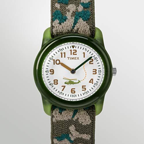 Timex Kid's Analog 28 mm Elastic Fabric Strap Watch 4