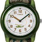 Timex Kid's Analog 28 mm Elastic Fabric Strap Watch 9