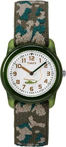 Timex Kid's Analog 28 mm Elastic Fabric Strap Watch 1