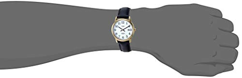 Timex Men's Easy Reader 35 mm Leather Strap Watch 3