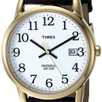 Timex Men's Easy Reader 35 mm Leather Strap Watch 13
