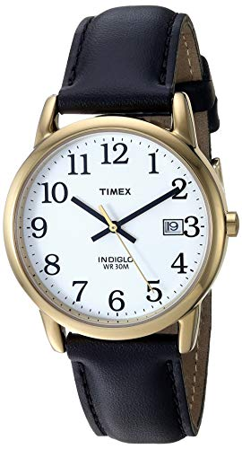 Timex Men's Easy Reader 35 mm Leather Strap Watch 2