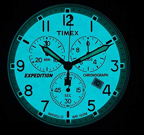 Timex Men's Expedition Scout Chronograph 42 mm Watch 7