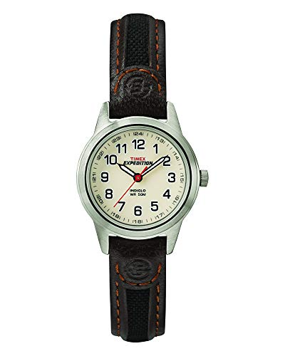 Timex Women's Expedition Field Mini 26 mm Leather Strap Watch 2