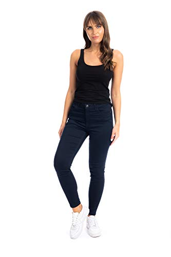 UC Womens Ex High Street Brand Super Skinny High Waisted Jeans Ladies Stretch Ankle Grazer Pants 3