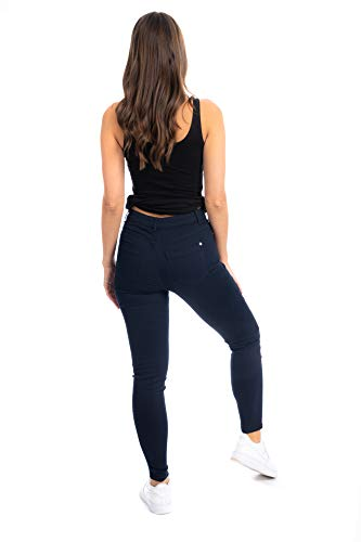 UC Womens Ex High Street Brand Super Skinny High Waisted Jeans Ladies Stretch Ankle Grazer Pants 7