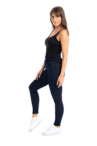 UC Womens Ex High Street Brand Super Skinny High Waisted Jeans Ladies Stretch Ankle Grazer Pants 9