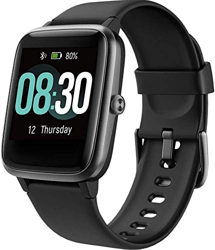 UMIDIGI Uwatch3 Smart Watch Fitness Trackers with 5ATM Waterproof All-Day Heart Rate and Sleep Monitoring Activity… 1