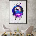 Uhomate Jack and Sally Nightmare Before Christmas Home Canvas Prints Wall Art Inspirational Quotes Wall Decor Living… 12
