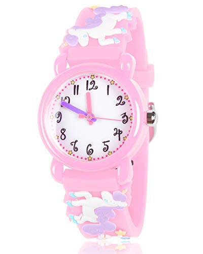 Unicorn Gifts for 3-12 Year Old Girls Kids, Watch Toys for Girl Age 5-12 Birthday Present for Kids 2
