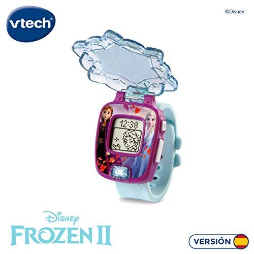 VTech Frozen 2 Digital Watch (Anna and Elsa). 3480-518822 - Spanish version 3
