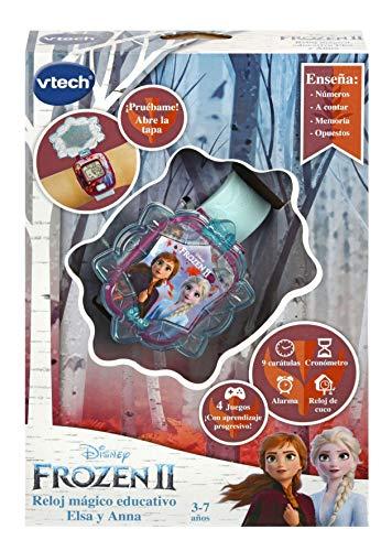 VTech Frozen 2 Digital Watch (Anna and Elsa). 3480-518822 - Spanish version 6