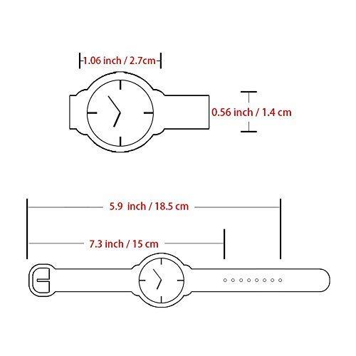 Vinmori Kid's Watch,3D Cartoon Pattern Silicone Band Waterproof Quartz Watch Gift for Children Boys Girls 4